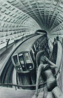 DC Subway by Javier Gil