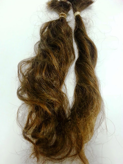 תרומת שיער לעמותת פלא פאה לכל אישה pele wig fr every woman
