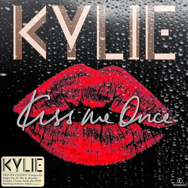 Kylie Minogue Kiss Me Once Deluxe Kylie Fanmade Art: Kis...