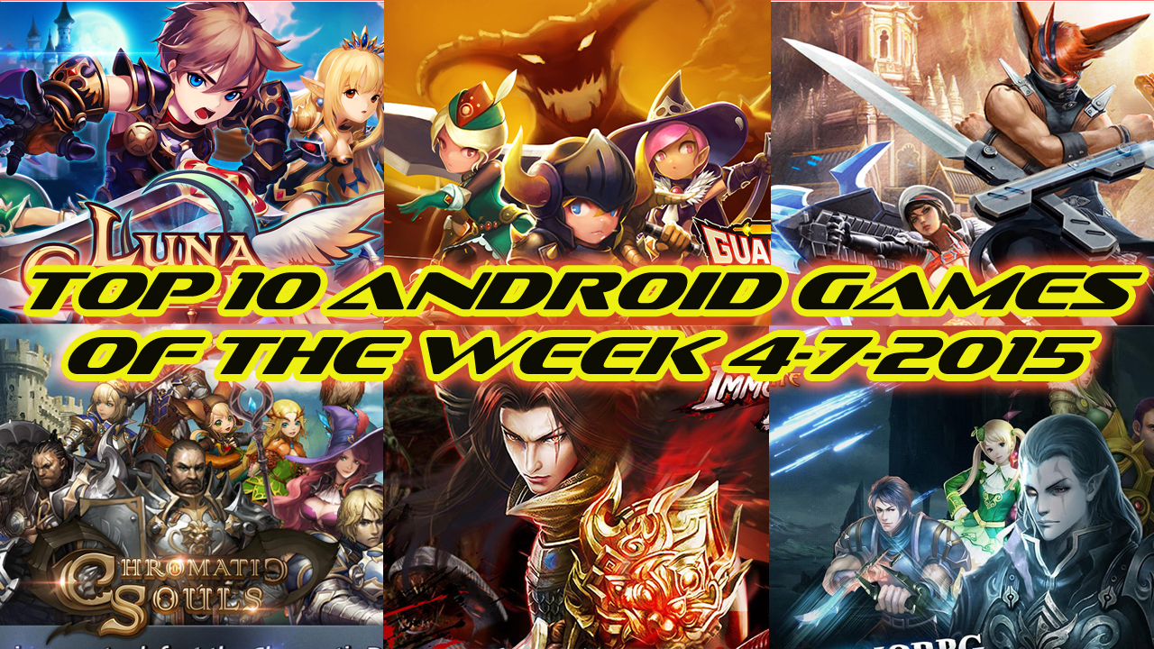 TOP 10 BEST NEW ANDROID GAMES OF THE WEEK - 4th July 2015