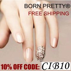 Vásárolj 10% kedvezménnyel a Born Pretty Store-ból!