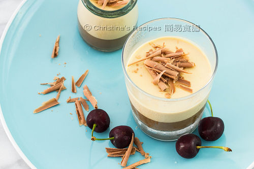 Layered Coffee Panna Cotta02