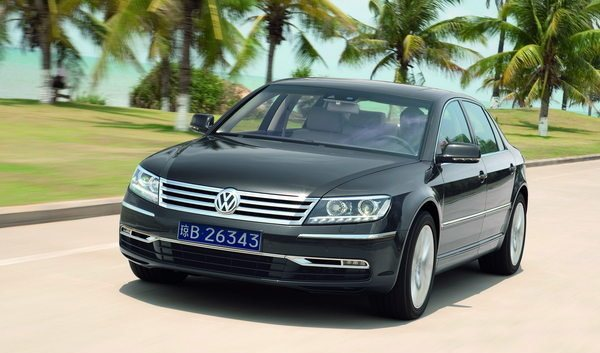 Next Volkswagen Phaeton to Debut New Design Language gassguzzler