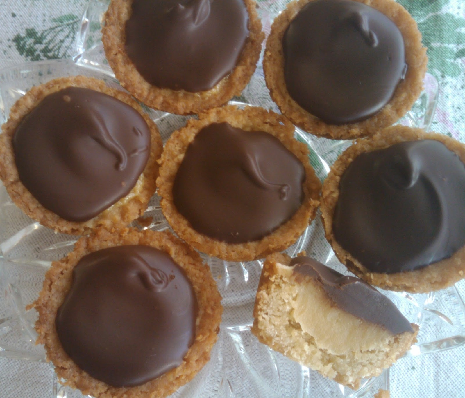 All Things High Tea: Chocolate Caramel Tartlets