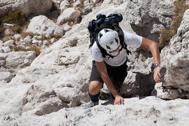 Passaggio della via Cieri al Monte Infornace
