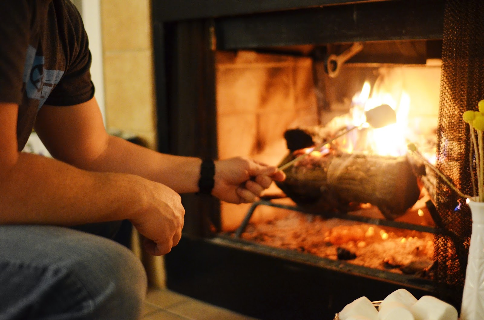 Date Night In: S'mores By the Fire - Love Lola | A Life & Style Blog