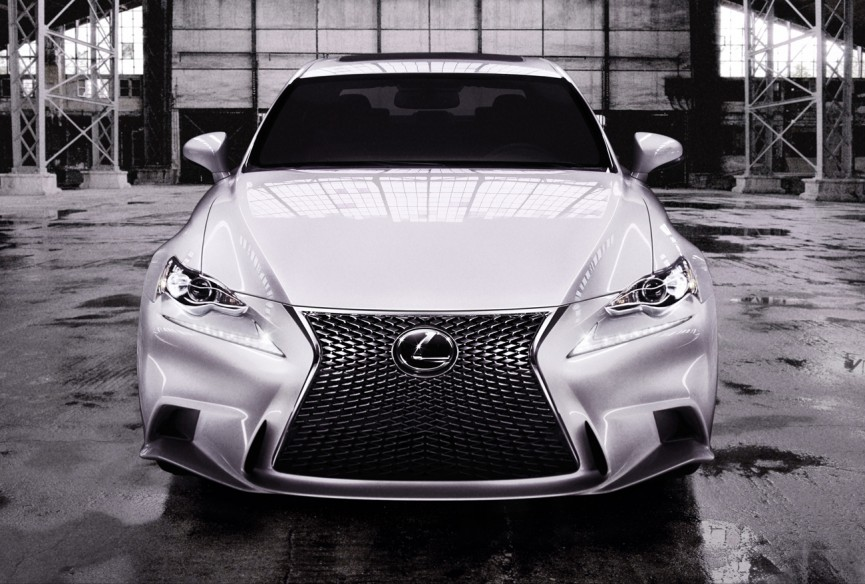 2014 Lexus IS 350 F Sport Official Images   HD wallapers