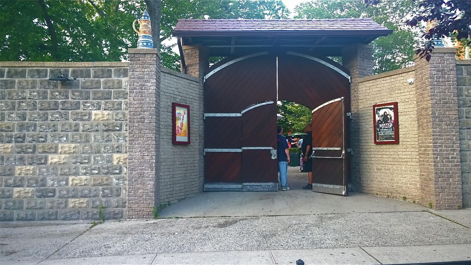 bohemian hall u0026 beer garden e a t e r y r o w