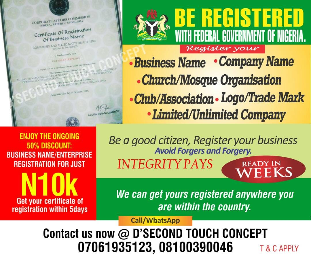 For Your Company Registration