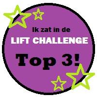 Wow ik heb de top 3 bij de liftchallenge gehaald!