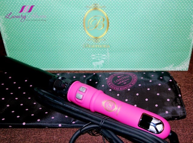 immortelle atelier beauphoria pink automatic curling tong review