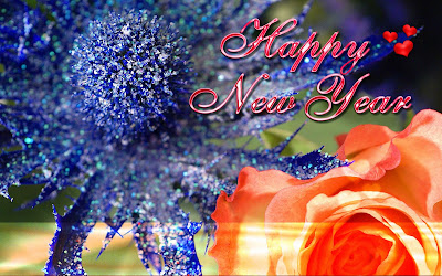 best wishes of happy new year wallpaper