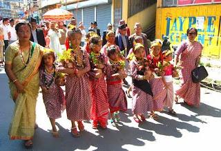 fulpati in Kalimpong - 2014