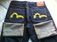 evisu heritage yellow size32
