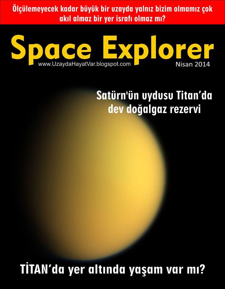 Satürn'ün uydusunda dev doğalgaz rezervi | Titanda'da yer altında yaşam olduğu düşünülüyor