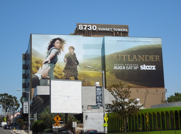 Outlander season 1 billboard