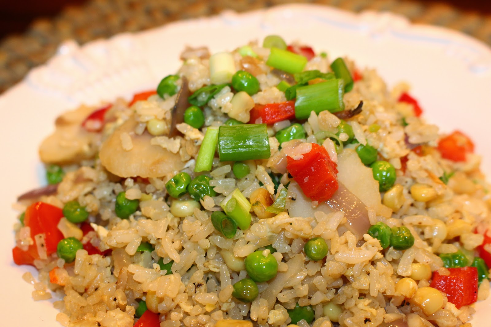 Kitchen cheetahs an improved way to make fried rice gluten free this is a super quick and easy one skillet meal unless you want to get all ambitious and make walnut shrimp or something hmmm that sounds good ccuart Gallery