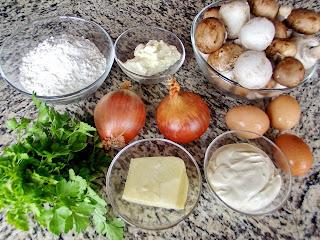 Tarta cu ciuperci si cascaval ingrediente reteta