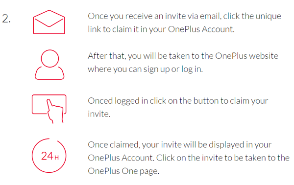 Steps2 for get oneplus-one