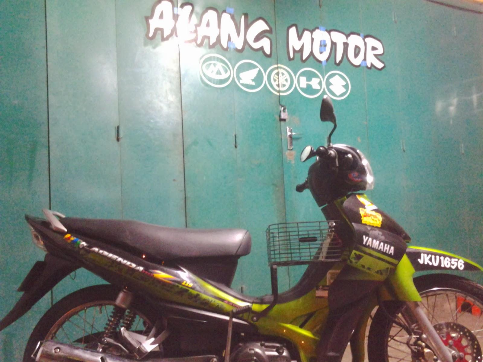 video) yamaha lagenda up to 150cc setting long distance