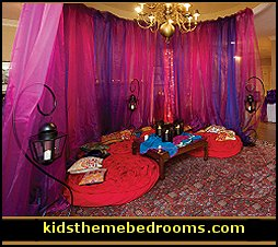 Iridescent Chiffon  sc 1 st  Modern House Plans : moroccan themed table setting - pezcame.com
