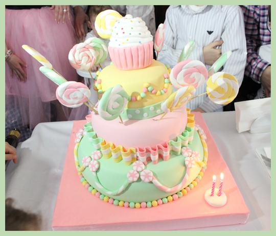 Temalı 1. Yaş Doğumgünü Partisi: Azra's Candy Shop