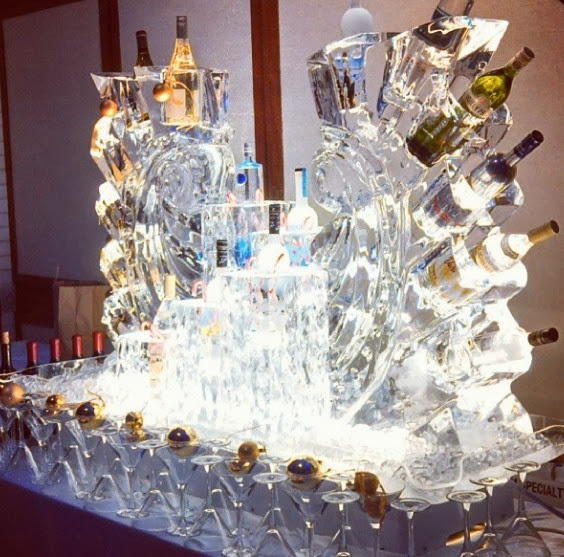 Ice Vodka Bar Ice Art Isha Foss Events