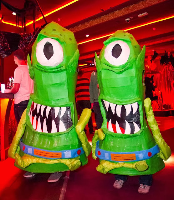 Kang and Kodos costume