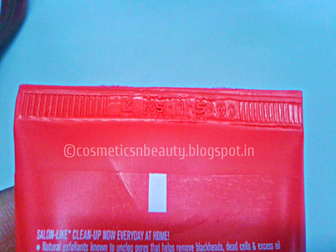 Lakme Clean Up Face Scrub Review