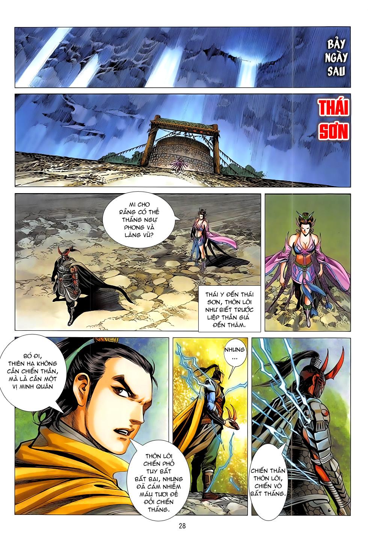 Chiến Phổ chap 20 - Trang 28