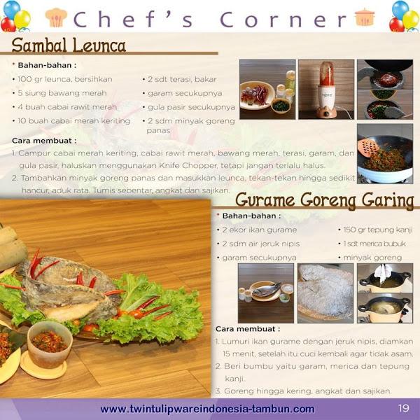 Chef's Corner : Resep Gurame Goreng Garing