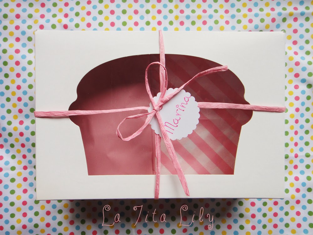 Packaging regalo cupcakes