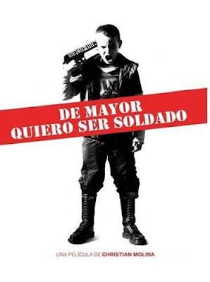 Cartel de la película De mator quiero ser soldado