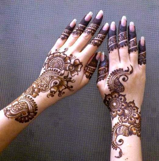 Arabic Henna Designs: Best Mehndi Designs For Different Occasions: Karwa Chouth