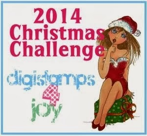 Progressive Christmas challenge with free stamp