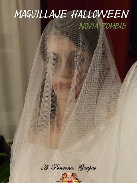 Maquillaje novia zombie Oriflame