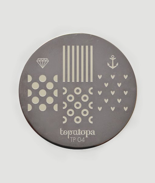 Lacquer Lockdown - Topatopa nail art stamping plates, topatopa, new nail art stamping plates 2014, new stamping plates 2014, new nail art plates 2014, new image plates 2014, stamping, cici and sisi, cute nail art ideas, summer nail art, stamping plates in france, french stamping plates, diy nail art, easy nail art ideas