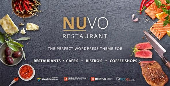 nuvo restoran teması