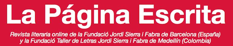 La Página Escrita. Antonio García Teijeiro es responsable de la poesía en esta publicación