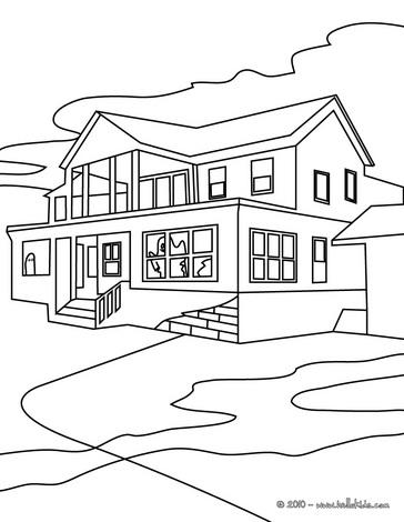 Desenhos de casas para imprimir e colorir coisas pra ver - Imagenes de casas para dibujar ...