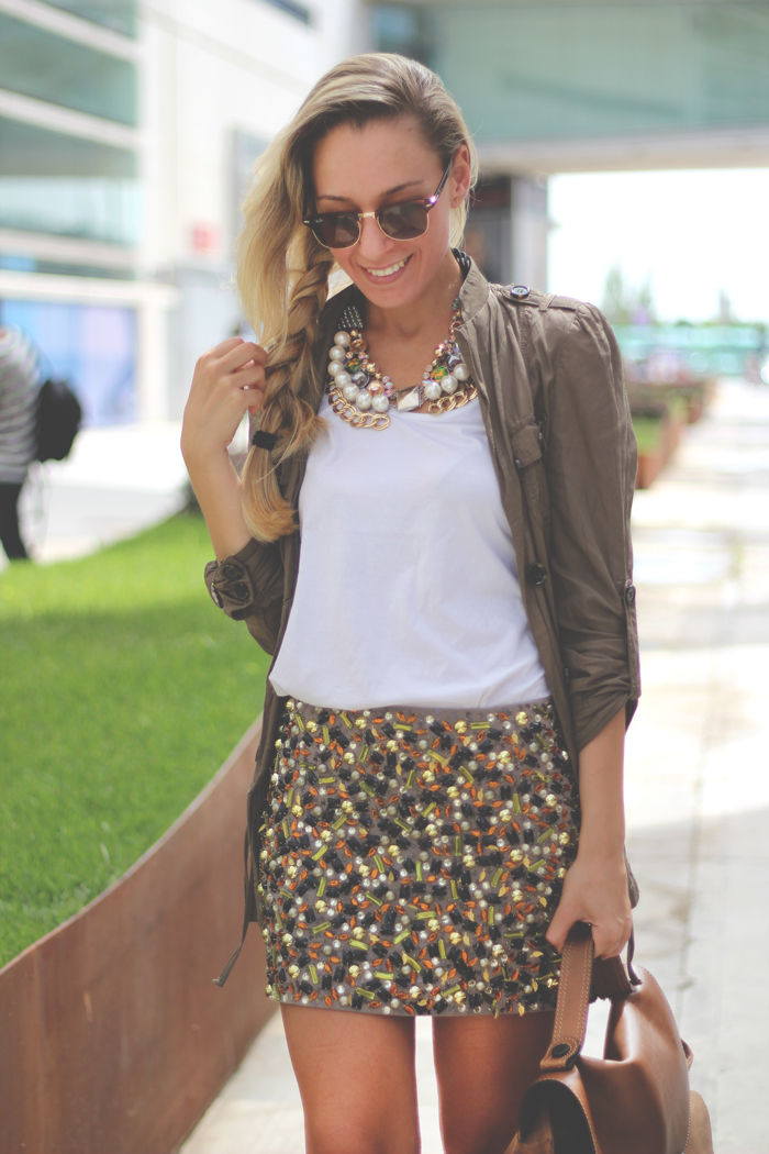 baroque trend, jewel skirt, baroque necklace, fashion blogger, my showroom, look, outfit