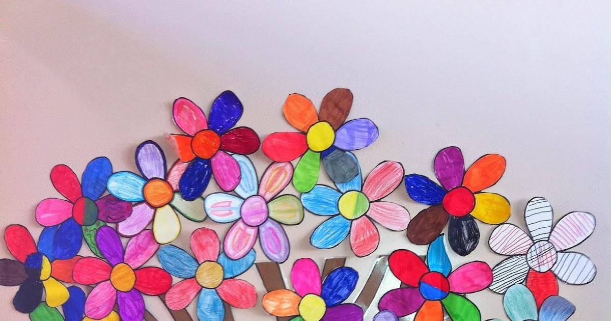 Rbol de primavera tallereando - Como hacer un arbol de papel grande ...