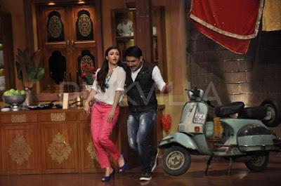 Soha Ali Khan promotes 'War Chhod Na Yaar' on Comedy Nights with Kapil