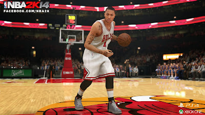 NBA 2K14 Next-Gen D Rose