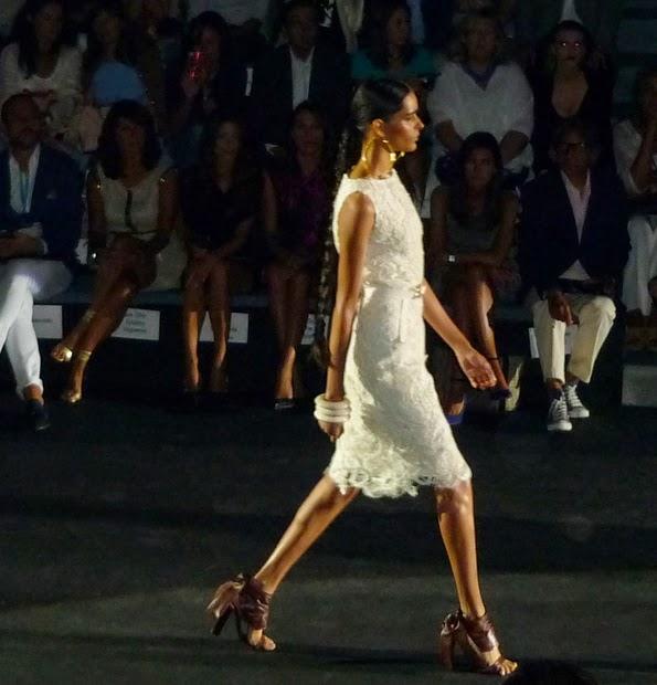 Vestido blanco Roberto Verino MBFWM
