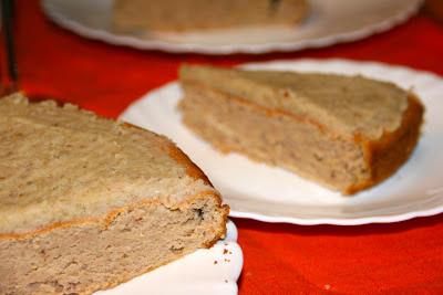 Pastís de castanyes sense gluten