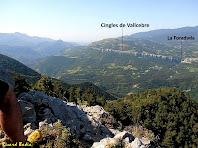 Els Cingles de Vallcebre des del Roc dels Quatre Batlles. Autor: Ricard Badia