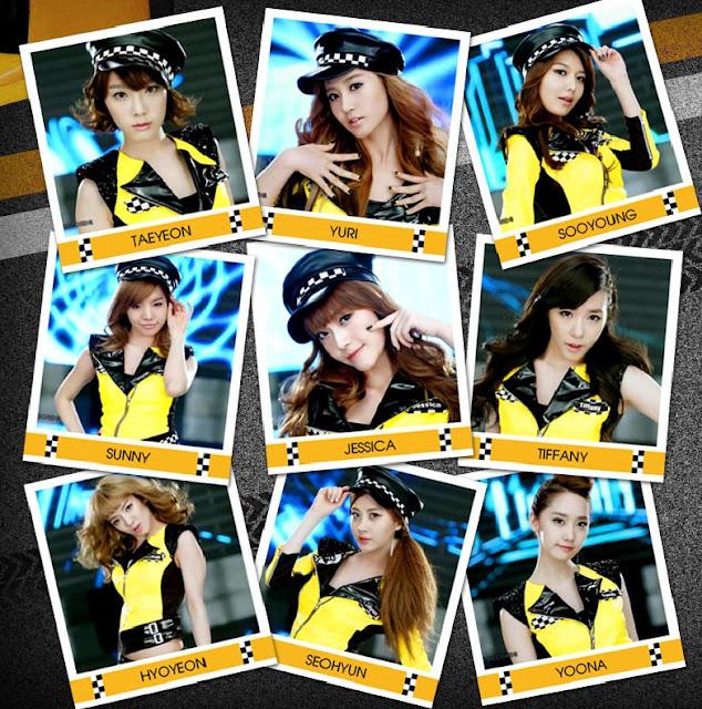 SNSD Mr Taxi wallpaper