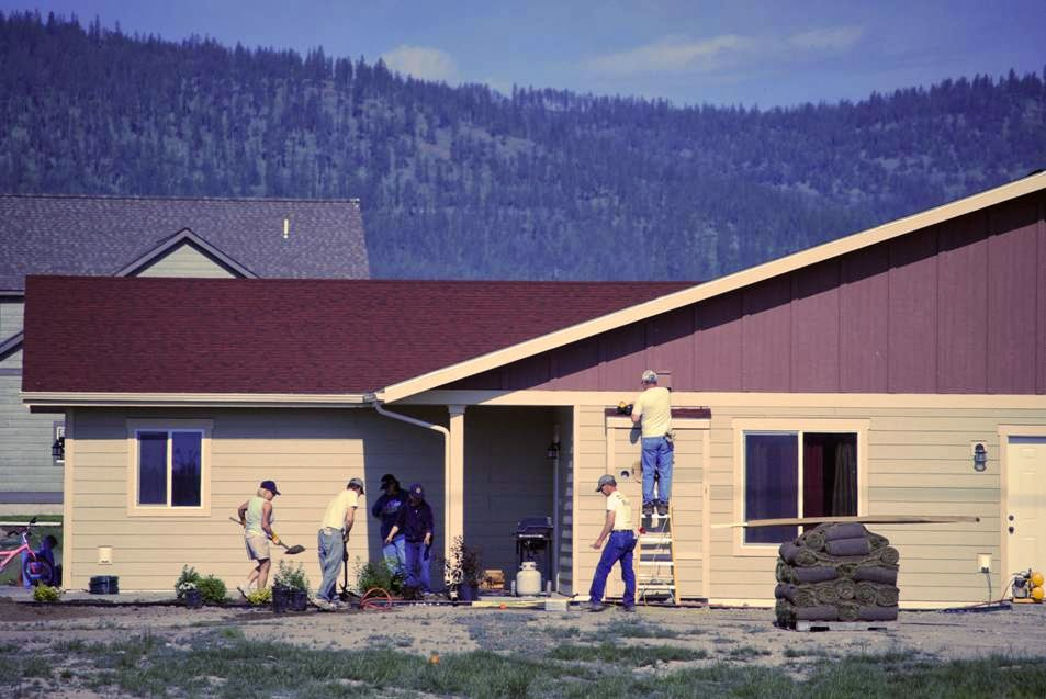 Habitat Homes in Flathead