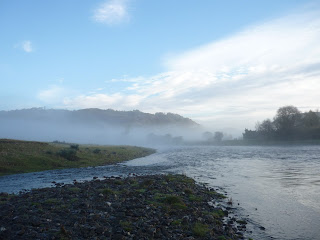 River Wye, Builth Wells, Fly Fishing